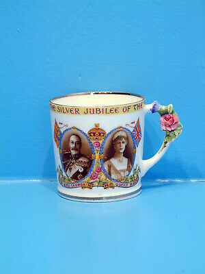 Paragon Mug - Silver Jubilee of King George & Queen Mary 1910 - 1935