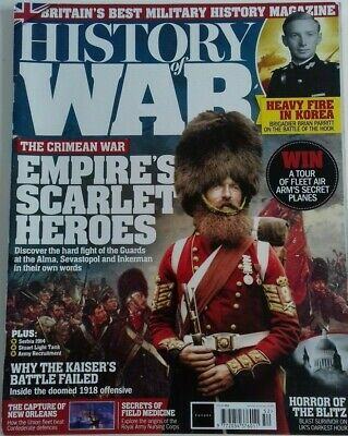 History Of War Magazine Issue 52 The Crimean War - 1918 Offensive - Military