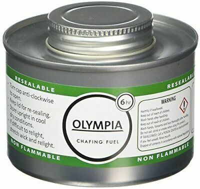 Olympia CB735 Chafing Fuel, 6 hour, Silver Pack of 48 UNITS CHEAPEST AROUND X48