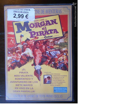 Dvd Morgan El Pirata - Leer Descripcion (5S)