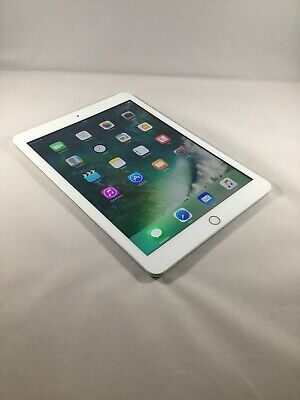 Apple iPad 5th Gen. 32GB, Wi-Fi + Cellular (Unlocked), 9.7in - Silver - Mint
