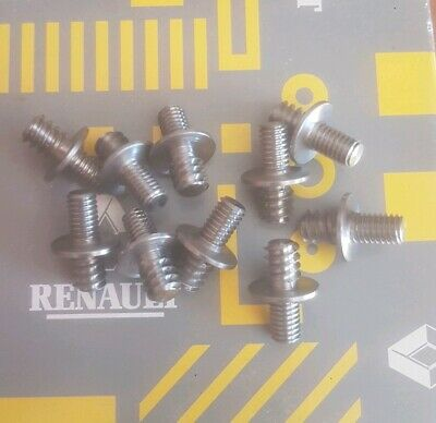 Renault 5 Gt Turbo New Body Kit Front & Rear Arch Mounting Stud Set Of Ten X 10