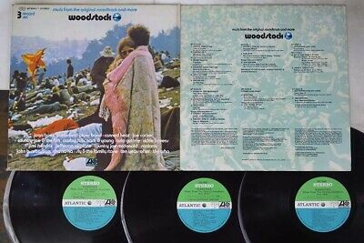 OST(JIMI HENDRIX) WOODSTOCK ATLANTIC MT 9065,6,7 Japan VINYL 3LP