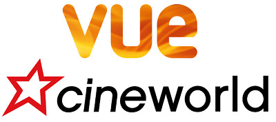 VUE & Cineworld Cinema E-Codes for 2D (selected cinemas) - QUICK RESPONSE