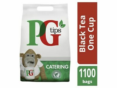 PG Tips 1100 One Cup Catering Tea Bags +Free 24h delivery