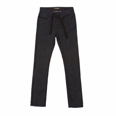 Element Primo Jeans Trousers Kids Boys Black Bnwt New