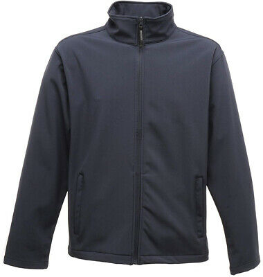 Regatta Print Perfect Mens Softshell Jacket - Navy