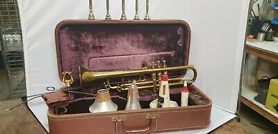 SELMER K MODIFIED 24B Trumpet with Vintage Selmer Case - $1,089 00