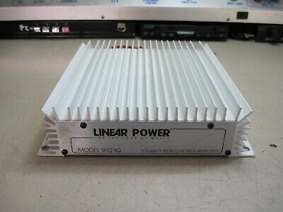 AMPLIFICATORE LINEAR POWER  992 iQ  USATO VINTAGE