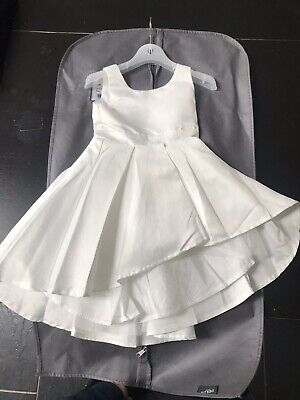 Girls Ivory Dress Monsoon Shoes Age 4 Size 9