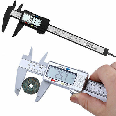 0-150mm/6inch LCD Digital Electronic Vernier Caliper Stainless Steel Micrometer