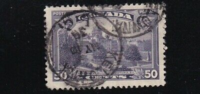 CANADA 1935  #226: KING GEORGE V 'PICTORIAL ISSUE' 20c  USED CDS CANCEL 1938