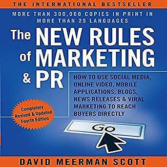 The New Rules of Marketing and PR By David Meerman Scott {P.D.F} Fast Shipping📥