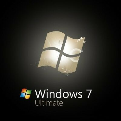 Microsoft Windows 7 Ultimate 32/64 Bit - Retail Key for 1 PC
