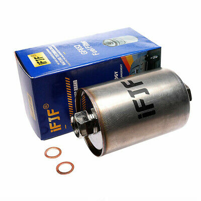 SET OF 5 Herko Fuel Filter FGM03 For Chevrolet Pontiac Cadillac Buick 1986-2007