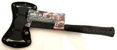 Estwing Double Bit Axe 38oz Solid Steel with Cushion Grip