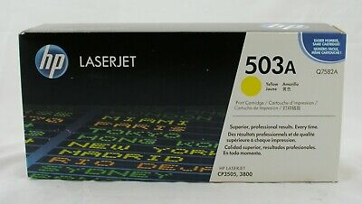 New Genuine HP Toner || 503A || Q7582A || Yellow || Free Shipping!!!