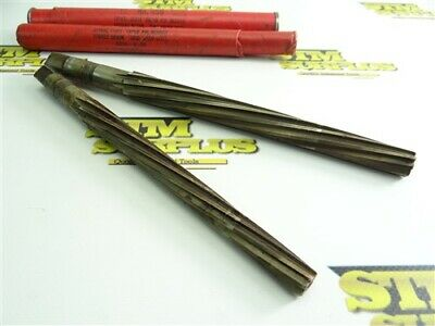 New! Pair Of Cleveland Hss Spiral Flute Taper Pin Reamers #9 & #10