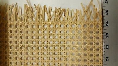 """Caning: Pre-woven Cane Web - Natural (24"""" x 9"""")"""