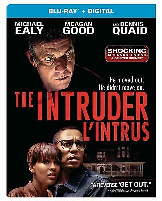 THE INTRUDER (2019) [Blu-ray + Digital] New ! (Free Shipping)