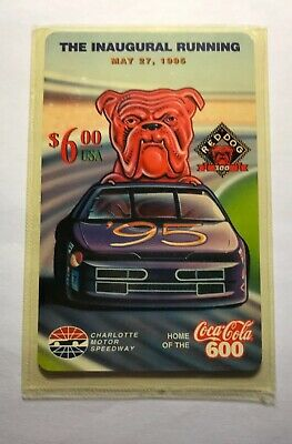 1996 Red Dog 300 Inaugural Running Racing Phone Card LE