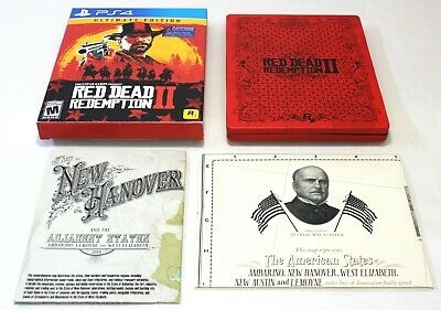 Red Dead Redemption II 2 Ultimate Edition + Steelbook (Sony PlayStation 4, PS4)