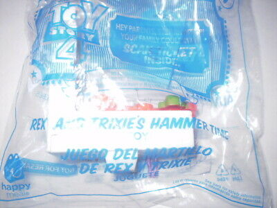 NEW McDonalds Disney Toy Story 4 Rex and Trixie's  #9 Happy Meal Toy 2019 Sealed
