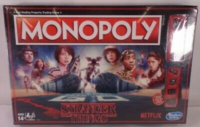 Monopoly Netflix Stranger Things Edition Hasbro - Brand New