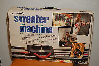 NEW Open Box Bond Incredible Sweater Machine Knitting Made in England