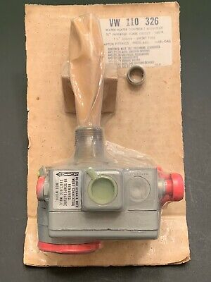 Robertshaw VW 110-326 Water Heater Control w/ ECO Natural Gas Only  NOS UNOPENED