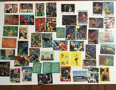 Junk Drawer Lot Mostly Cards Stickers Sports Lion King Marvel