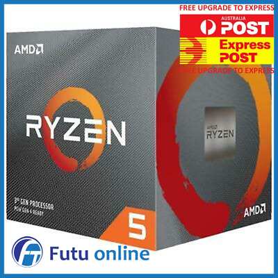 AMD Ryzen 5 3600X AM4 CPU 3.8 GHz 6 Core 12 Thread 32 MB Cache Desktop Processor