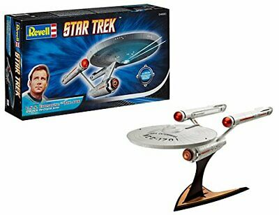 Revell- Maqueta Star Trek U.S.S. Enterprise NCC-1701, Kit Modello,(1:600)