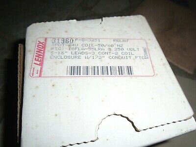 LENNOX 31960 BLOWER RELAY P-8-3251 24V, w shelf wear