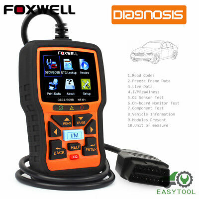 Foxwell NT301 Universal OBD2 Engine Code Reader Scanner Car Diagnostic Scan Tool