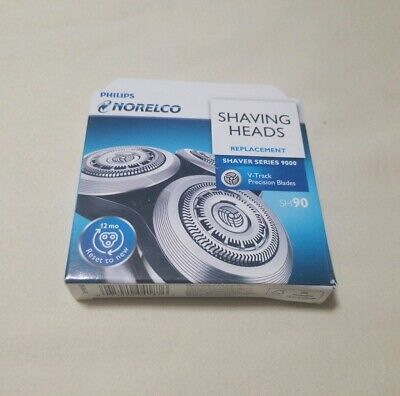 Philips Norelco SH90 Replacement Shaving Heads Series 9000 - New