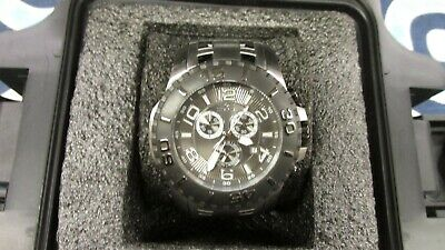 Invicta Mens 17394 Pro Diver Analog Display Swiss Silver Watch ~ New Battery