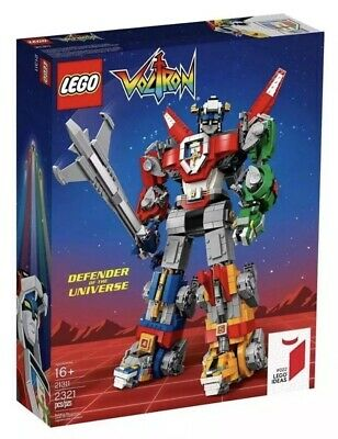 LEGO IDEAS 21311 VOLTRON DEFENDER OF THE UNIVERSE NIB SEALED new rare robot lion