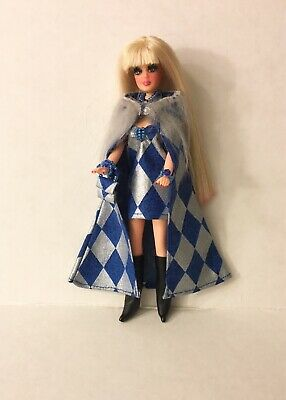 Topper Dawn Doll clothes....BEAUTY PAGEANT CAPE custom remake