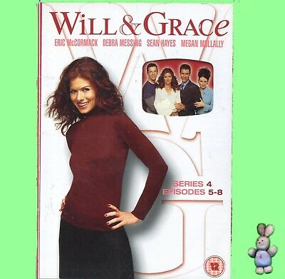 Will and Grace - Season 4 - Episodes 5 To 8 DVD New Sealed UK Region 2 PAL