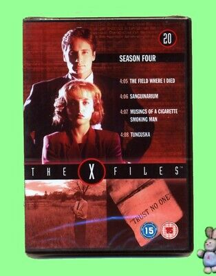 The X Files  4 Episodes from Season 4 No 20 DVD New Sealed UK Region 2 PAL