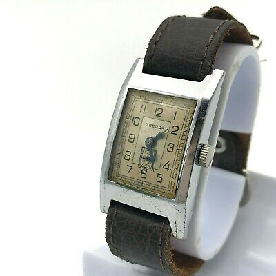 STAR Zvezda Vintage Antique Retro Watch Small Size Men's SERVICED 1954 USSR