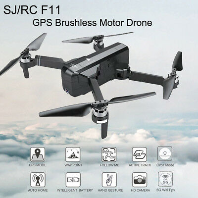 NEW SJRC F11 GPS 5G WiFi FPV 1080P HD Cam Foldable Brushless AU Drone Quadcopter