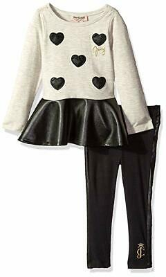 Juicy Couture Baby Girls&#39 Tunic and Legging Set with Pleather