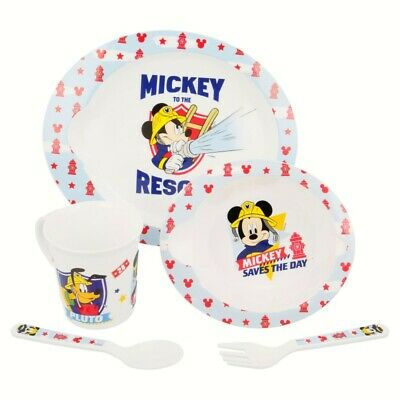 Set Micro Baby 5 Pcs. Mickey Mouse - Disney - To The Rescue