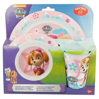 Set Micro 3 Pcs. Patrulla Canina Girl