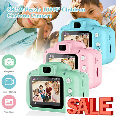 "Mini Digital Camera HD 1080P 2"" LCD Children Camera Camcorder Gift For Kids Baby"