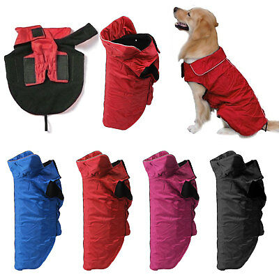 Dog Puppy Outdoor Fleece Jacket Dog Waterproof Rain Coat Keep Pets Healthy