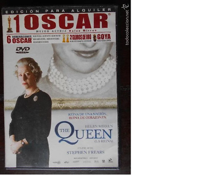 Dvd The Queen (La Reina) - Helen Mirren - Edicion De Alquiler (5K)