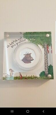 The Gruffalo 2019 50p Fifty Pence Silver Proof Coin Royal Mint Box And Coa